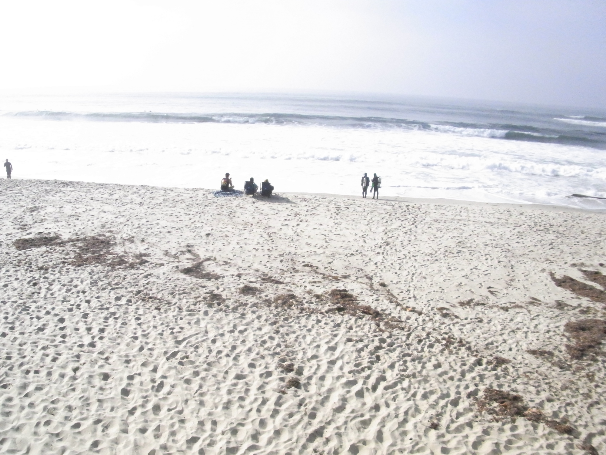 Weiterer Strand nachmittags in San Diego