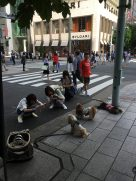 Girls and Dogs (Fashion Leute in Ginza)