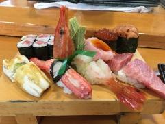 Someone cut my sushi (Mein wöchentliches Sonntags-Brunch geschnitten)