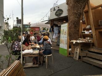 Commune 246 Strassenessen für Hipster in Aoyama