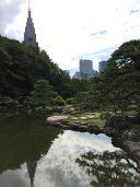 Shinjuku Park heute Eintritt frei