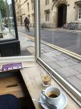 Cafe am Morgen in Oxford