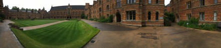 Keble College in Oxford, wie Harry Potter