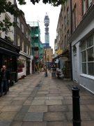Irgendwo in trendigen Ecken in London