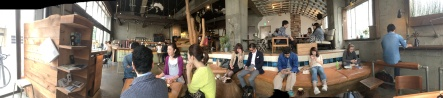 Panorama of Hotel Plus Coffeeshop Hipster Heaven