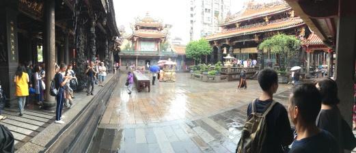 Longshan Temple Panorama