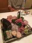 Sashimi Portion für 2 Leute