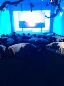 Blue Meditation Room